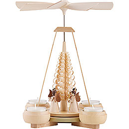 1 - Tier Pyramid  -  Angels  -  24cm / 9.4 inch