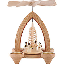 1 - Tier Pyramid  -  Angels  -  Natural  -  26cm / 10.2 inch