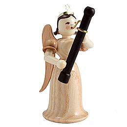 Angel Long Skirt with Bassoon, Natural  -  6,6cm / 2.6 inch