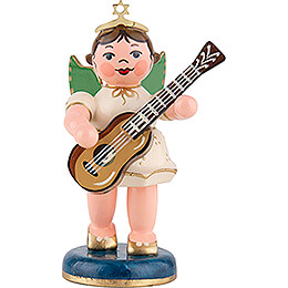 Angel with Classical Guitar  -  6,5cm / 2,5 inch