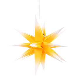 Annaberg Folded Star for Indoor Yellow - White  -  58cm / 22.8 inch