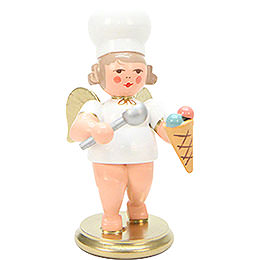 Baker Angel with Icecream  -  7,5cm / 3 inch
