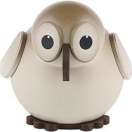 Ball Figure Owl Colored  -  6cm / 2.3 inch
