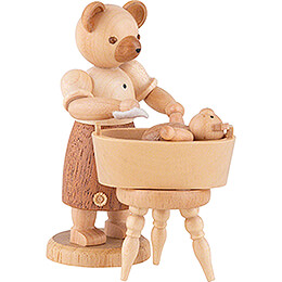 Bear Mother with Child  -  10cm / 4 inch