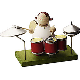 Big Band Guardian Angel with Drums  -  3,5cm / 1.3 inch