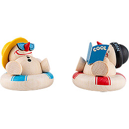 COOL MAN Holiday  -  2 pcs.  -  5cm / 2 inch