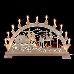 Candle Arch  -  Deer  -  65x40cm / 26x16 inch