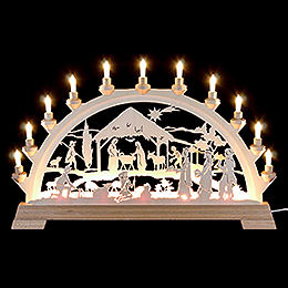 Candle Arch  -  Nativity  -  65x40cm/26x16 inch