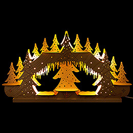 Collector Candle Arch  -  without Figurines  -  62x34cm / 24.4x13.4 inch