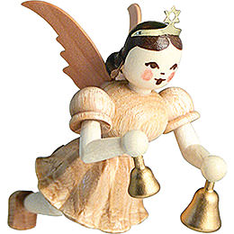 Floating Angel Bells, Natural  -  6,6cm / 2.6 inch