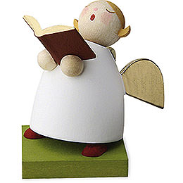 Guardian Angel with Book Singing  -  3,5cm / 1.3 inch
