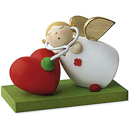 Guardian Angel with Stethoscope  -  3,5cm / 1.3 inch