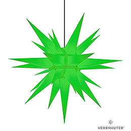 Herrnhuter Star A13 Green Plastic  -  130cm/51 inch