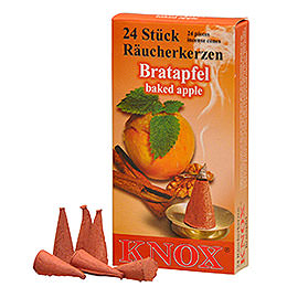 Knox Incense Cones  -  Baked Apple