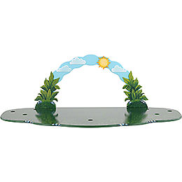 Meadow with Sky Arch  -  80x38x27cm / 31,5x15x10,5 inch