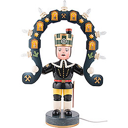 Miner with Light Arch  -  53cm / 21 inch