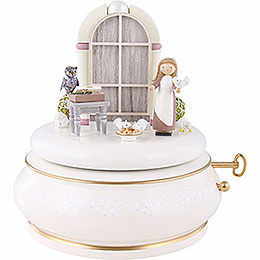 "Music Box ""Three Nuts for Cinderella""  -  16,5cm / 6.5 inch"