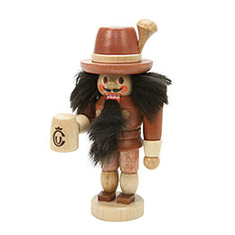 Nutcracker  -  Bavarian Natural Colors  -  10,5cm / 4 inch