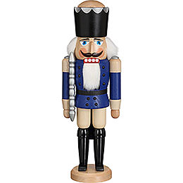 Nutcracker  -  King Glazed Blue  -  39cm / 15.4 inch