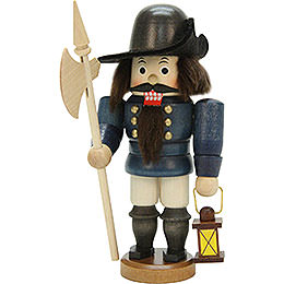 Nutcracker  -  Night Watch Man Glazed  -  15,5cm / 6 inch