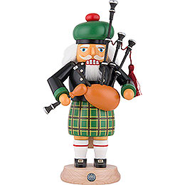 Nutcracker  -  Scotsman in Highland Costume with Bagpipe  -  27cm / 11 inch