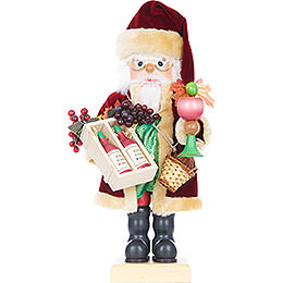 Nutcracker  -  Wine Santa  -  Limited Edition  -  46cm / 18 inch