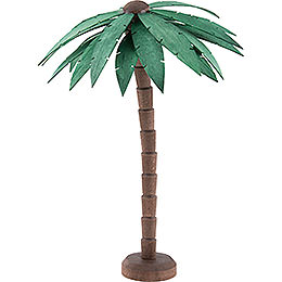 Palm Tree, Stained  -  16cm / 6.3 inch