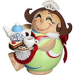 Smoker  -  Chocolate Girl  -  Ball Figur  -  11cm / 4.3 inch