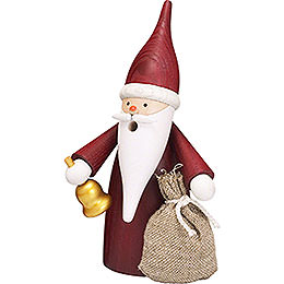 Smoker  -  Christmas Gnome  -  16cm / 6 inch