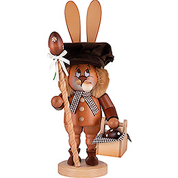 Smoker  -  Gnome  -  Bunny with Egg Basket  -  36cm / 14 inch
