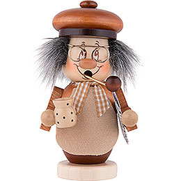 Smoker  -  Mini - Gnome Grandpa  -  13,5cm / 5.3 inch