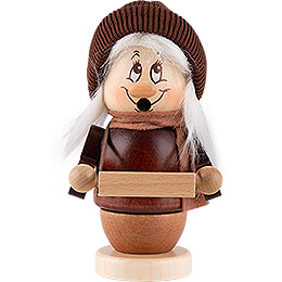 Smoker  -  Mini Gnome Striezel Girl  -  13cm / 5.1 inch