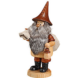 Smoker  -  Mountain Gnome with Sack  -  18cm / 7 inch