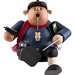 Smoker  -  Robust Pensioner  -  15cm / 5.9 inch