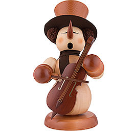 Smoker  -  Snowman with Bass Natural  -  60cm / 24 inch