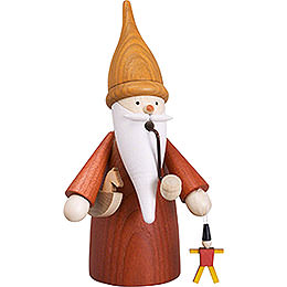 Smoker  -  Toy Gnome  -  16cm / 6 inch