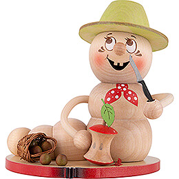 Smoker  -  Worm Apple Rudi  -  14cm / 5.5 inch