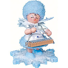 Snowflake with Xylophone  -  5cm / 2 inch