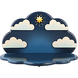 Standing Angel Cloud Hanging  -  23x14x14cm / 9x5,5x5,5 inch