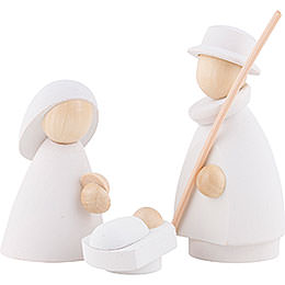 The Holy Family White/Natural  -  Small  -  6,0cm / 2.4 inch