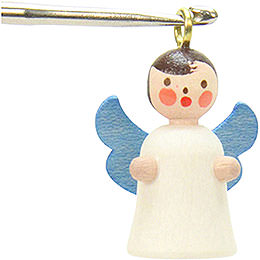 Tree Ornament  -  Angel (without Thread)  -  1,8 / 2,7cm  -  1x1 inch