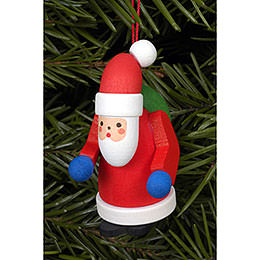 Tree Ornament  -  Santa Claus  -  2,5x5,0cm / 1x2 inch