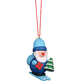 Tree Ornament  -  Santa Claus Blue  -  5,3cm / 2.1 inch
