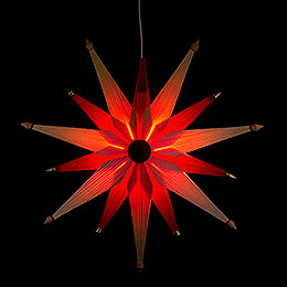 Window Picture  -  Christmas Star Natural  -  47cm / 18.5 inch